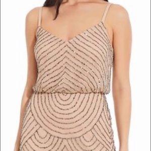 Adrianna Papell dress blush